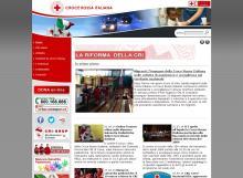 Il sito istituzionale della CRI