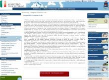 Il sito istituzionale della Prefettura di Venezia